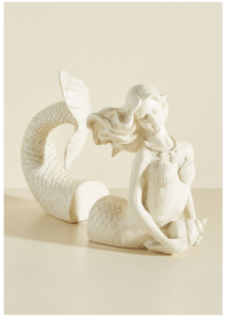 25 Last Minute Gifts for Book Lovers Mermaid Bookends