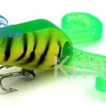 lighting colors ABS material popperbait CH14PP3 5.5cm 10.2g  hard fishing lure from Chinese manufacturer