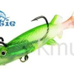 soft body lead weight  lure bait Kesun back hook and belly hook lure CH14SF12-S 100mm 20g-CH14SF12