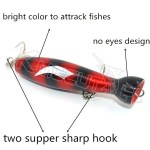Cheap price and OEM of CHWB3  wooden popper fishing lure