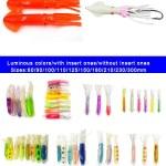 Luminous soft squid lure wholesale-lumo soft squid fishing lures