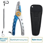 Similar Mustad fishing plier, aluminum fishing plier wholesale