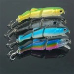 Hard ABS Jointed Minnow   With 3D Eyes  2017 Hot Sale 5.8″ 28g lure  -chmn12