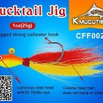 This Bucktail Jig is Flounder and Stripe bass Candy