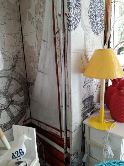 Paravento Barca Timone Faro Gennaker - KMV Home Store stocKMarket