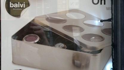 Scatola Metallo Orologi Portagioie - KMV Home Store stocKMarket