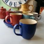 Tazza Mug per Tisana, in Gres, Blu, Toscana