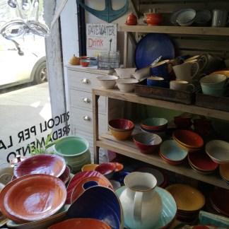 Insalatiera Piccola Zuppiera Bicolore Gres Porcellanato - KMV Home Store stocKMarket
