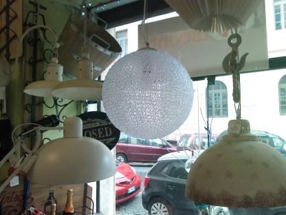 Lampada Soffitto Sospesa Acrilico Artigianale - KMV Home Store stocKMarket