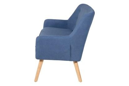 Divano Imbottito Braccioli Living Blue - KMV Home Store stocKMarket