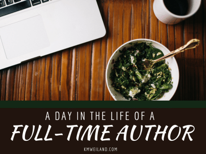 A Day in the Life of a Full-Time Author