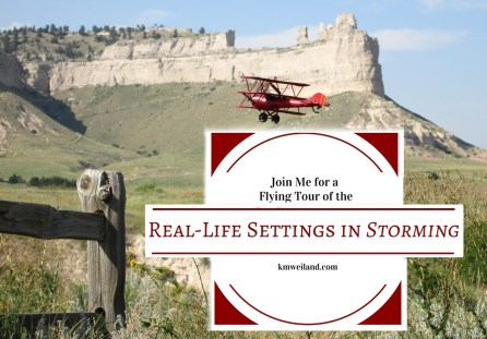 Join Me for a Flying Tour of the Real-Life Settings in Storming