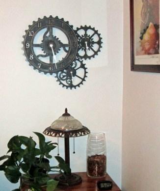 3-15 Steampunk Clock From Walmart