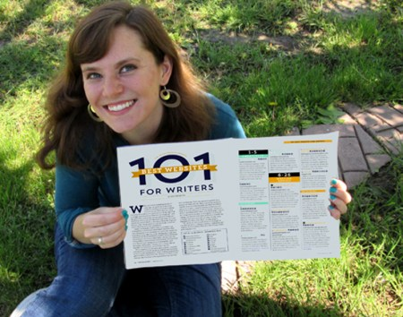 6-15 Writers Digest 101 Best Websites for Writers Award