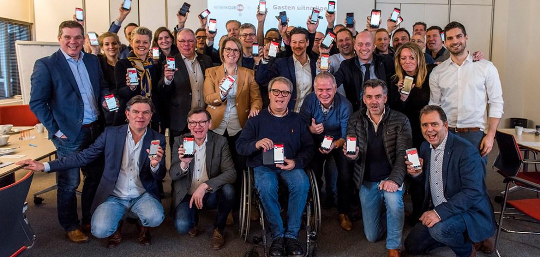 40 lachende gezichten, 40 stralende smartphones en 1 trotse maker. Vanochtend vond in het Evoluon de lancering plaats van een unieke, op maat gesneden NetwerkApp voor Netwerkclub040. www.kn-app.nl/netwerkapp