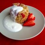 Vločkový mugcake – nejlepší rychlá snídaně!