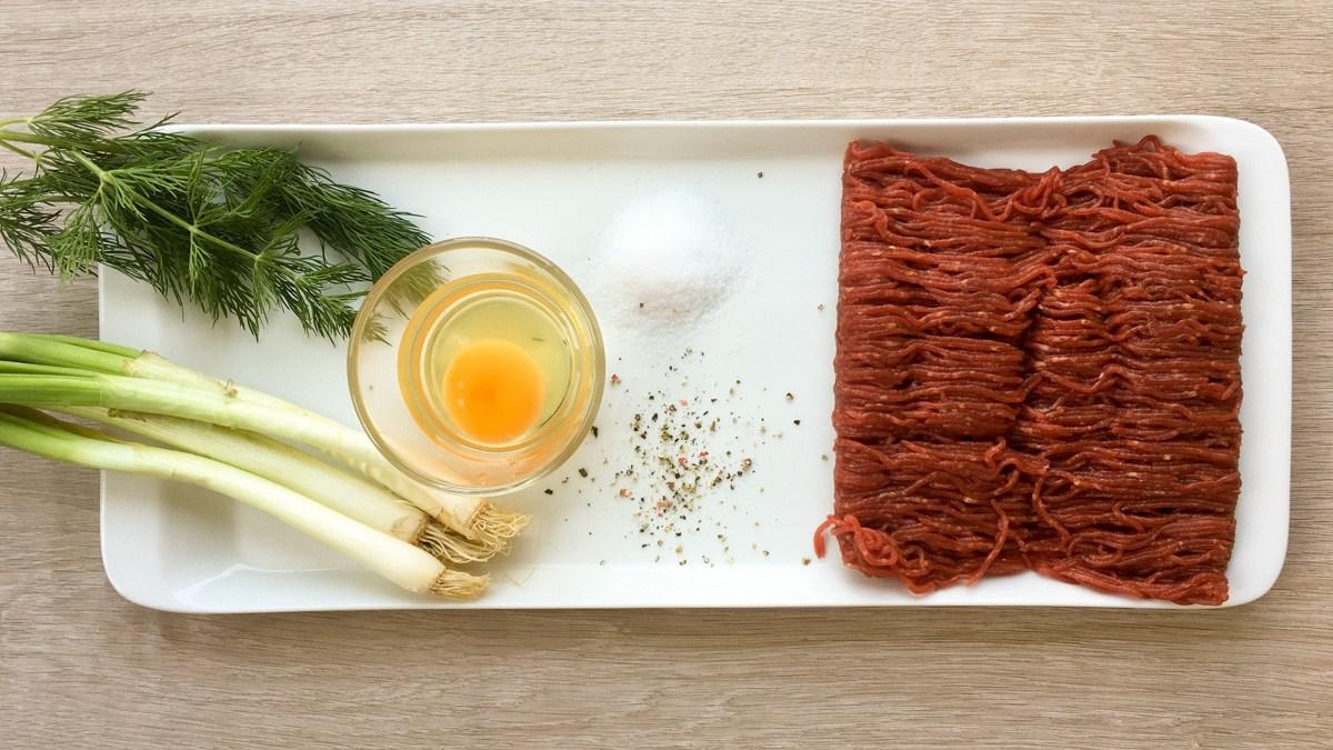 Nízkosacharidový recept: Lehce netradiční hovězí tatarák