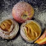 Jablečné muffiny – recept ve dvou verzích (LC-bezlepková a verze s ovesnými vločkami) – z lokálních surovin ze Scuku
