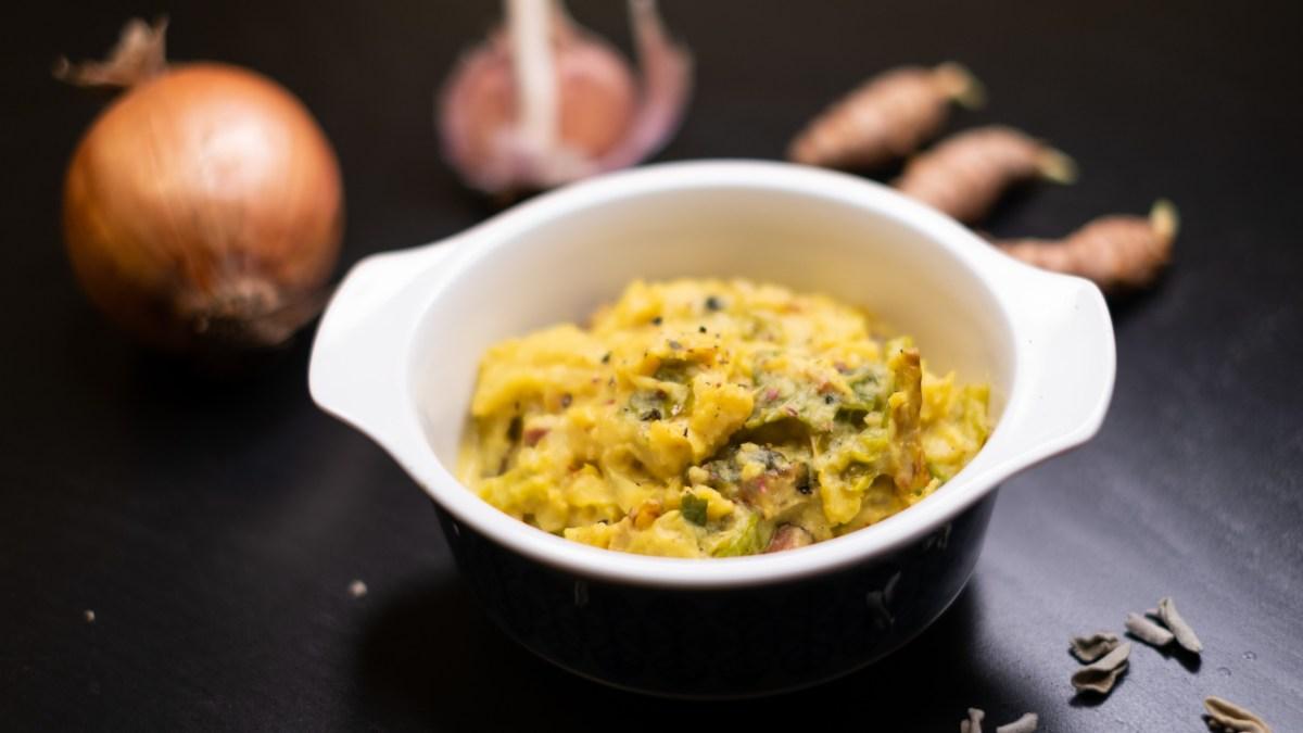 Krémová kapusta – úžasná zeleninová příloha do podzimního počasí! #AIP, paleo, low-carb recept