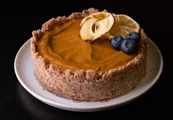 Nepečený koláč z pečené dýně :-) #low carb, paleo recept