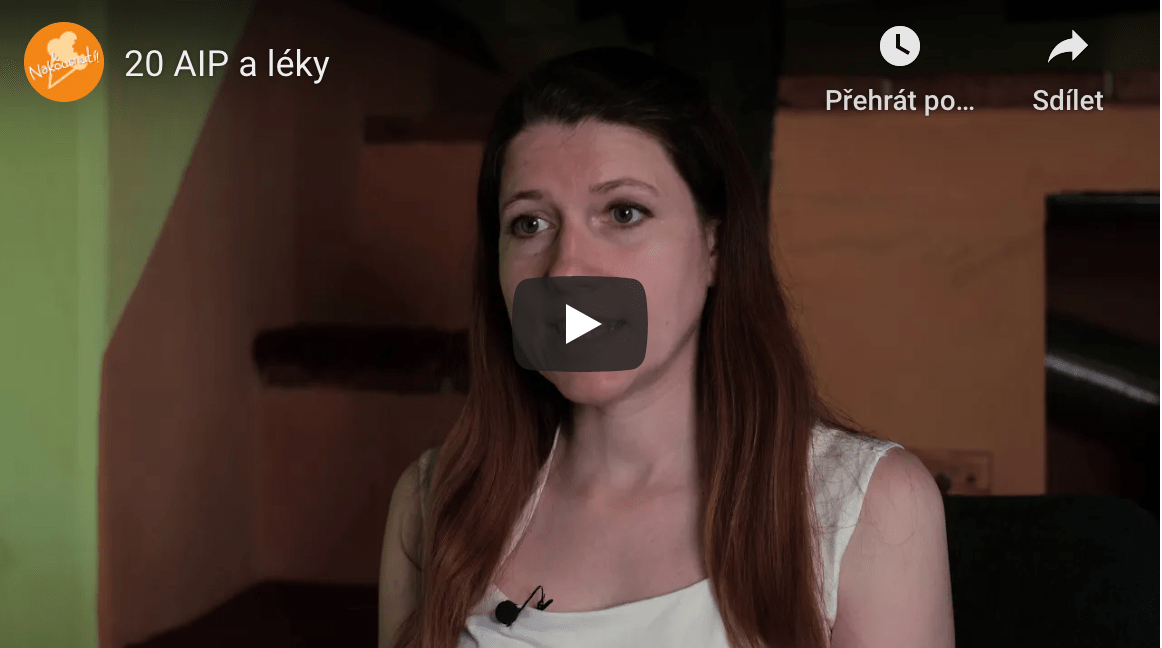 Video 20: AIP a léky