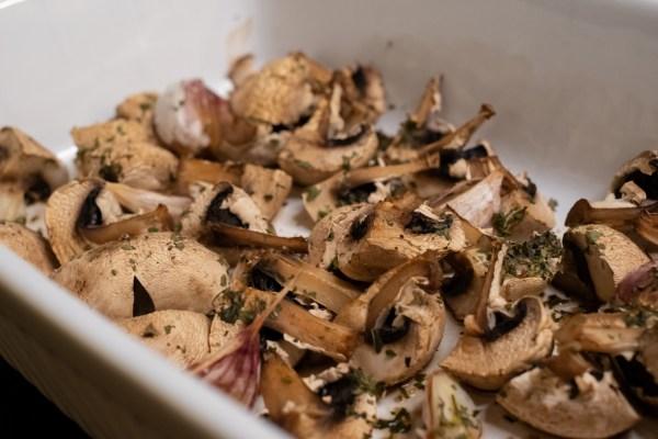 Pečené houby jako příloha: rychlý AIP, low-carb, paleo recept