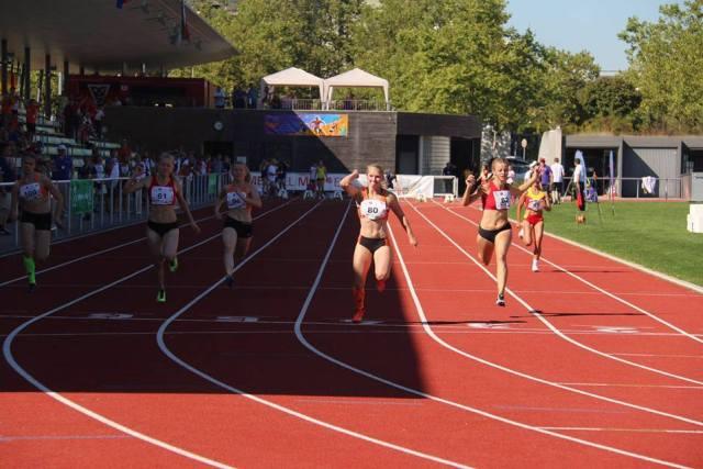 Elaine 100m