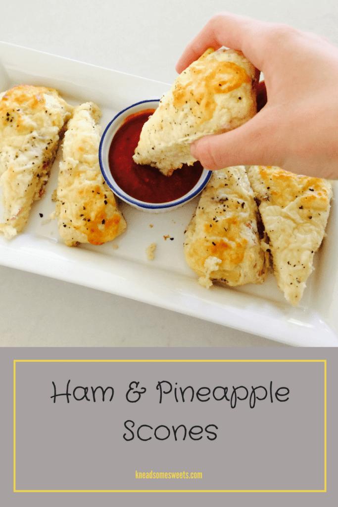 Ham & Pineapple Scones