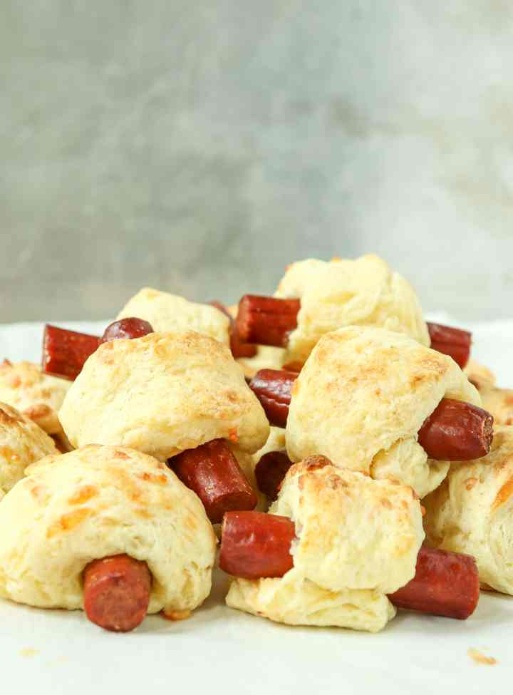 Pepperoni Biscuit Rolls