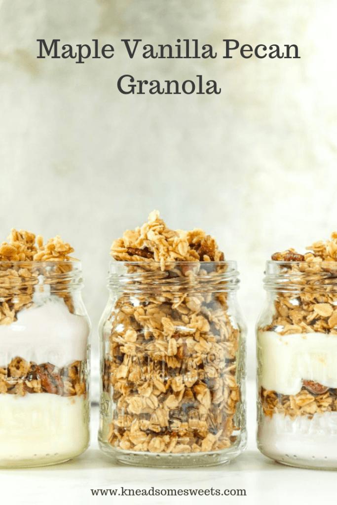 Maple Vanilla Pecan Granola