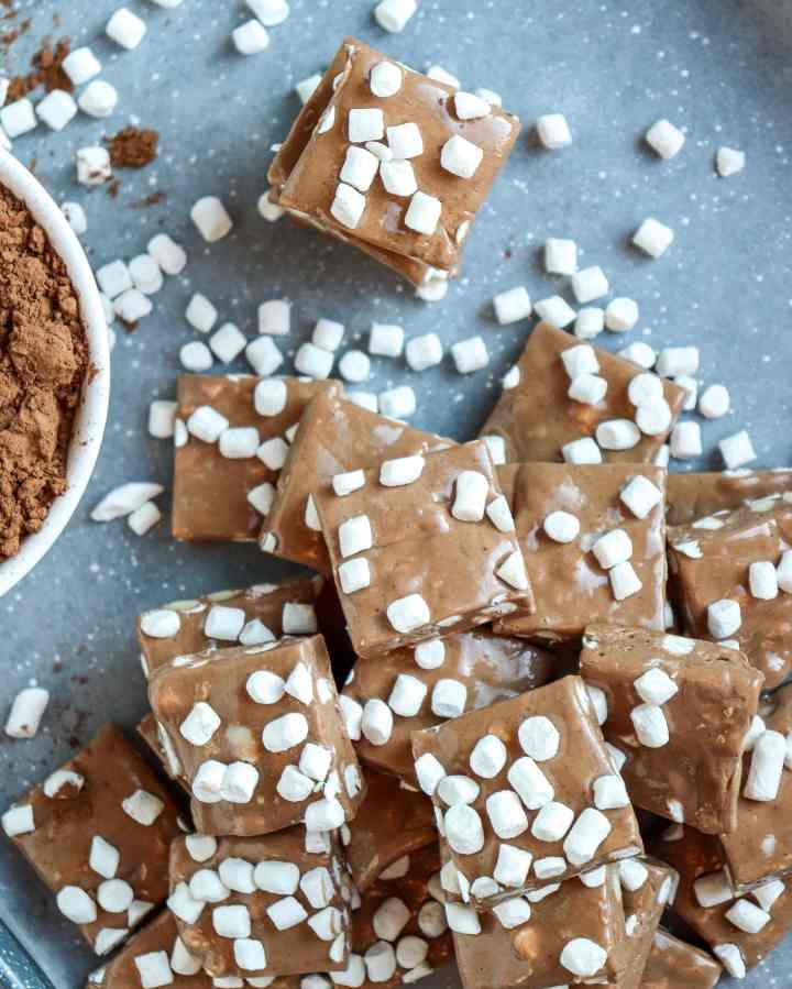 Hot Chocolate Nougat Candy