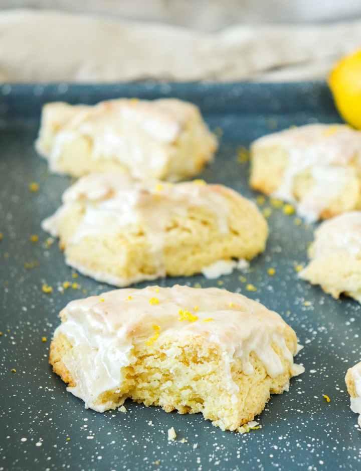 Lemon Cream Scones