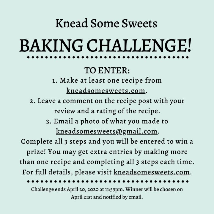 Knead Some Sweets Baking Challenge!