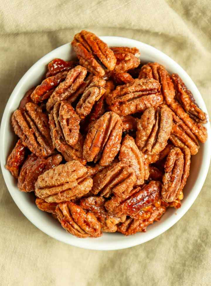 Chipotle Candied Pecans