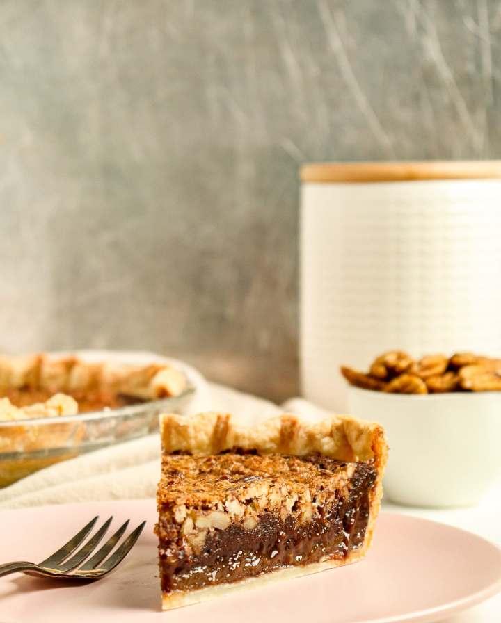 Fudge Brownie Pecan Pie
