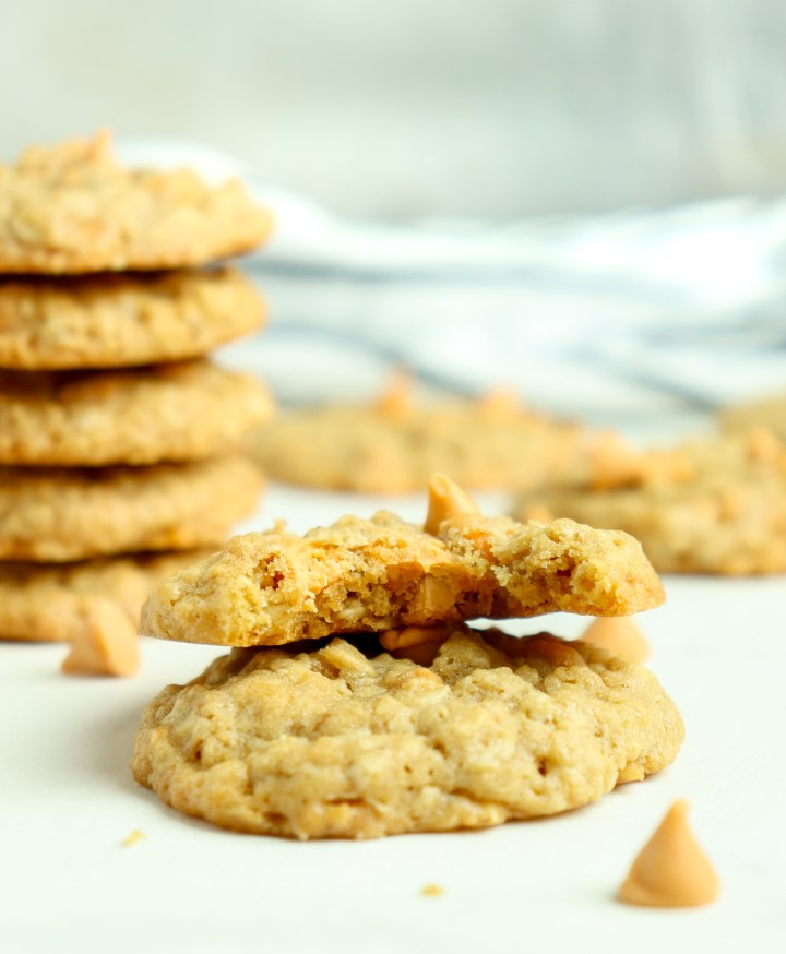 oatmeal cookies with butterscotch chips