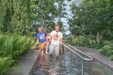 Göhren auf Rügen Wassertreten