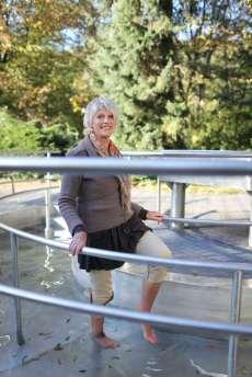 Schleiden-Gemünd Wassertreten nach Kneipp