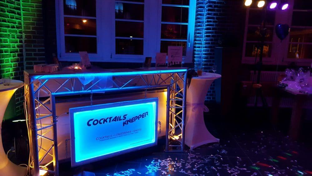 Mobile Cocktailbar in der Alten Lohnhalle in Wattenscheid