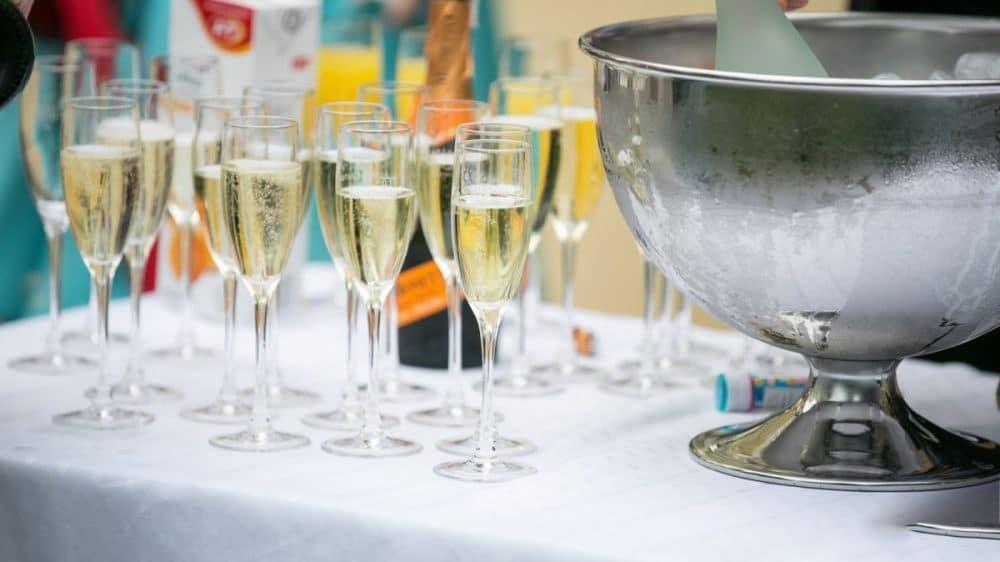 Sektempfang von Cocktails Knepper