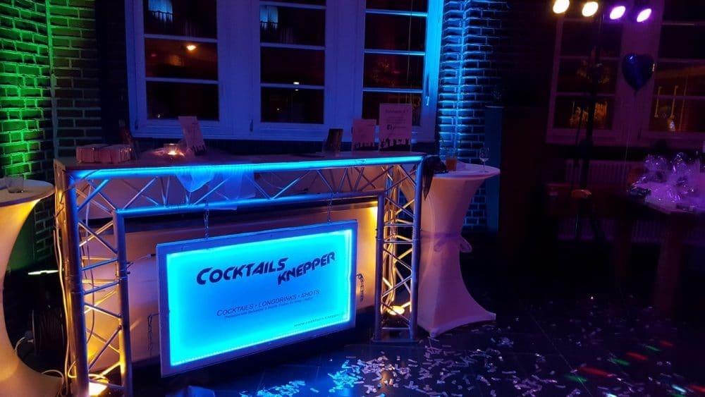 Knepper Management - Mobile Cocktailbar in der Alten Lohnhalle Wattenscheid