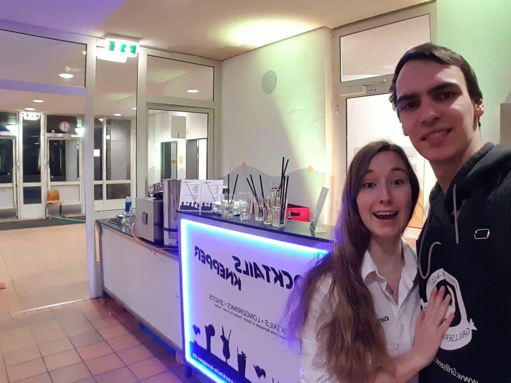 Knepper Management | Mathieu Knepper und Michelle in der Schule