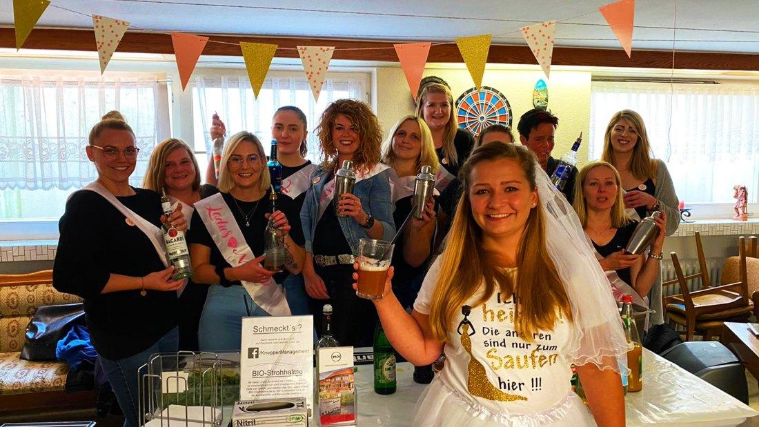 Cocktails Knepper - Cocktailkurs - JGA in Iserlohn mit lieben Gästen