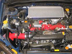 K&N Air Intake System Installed