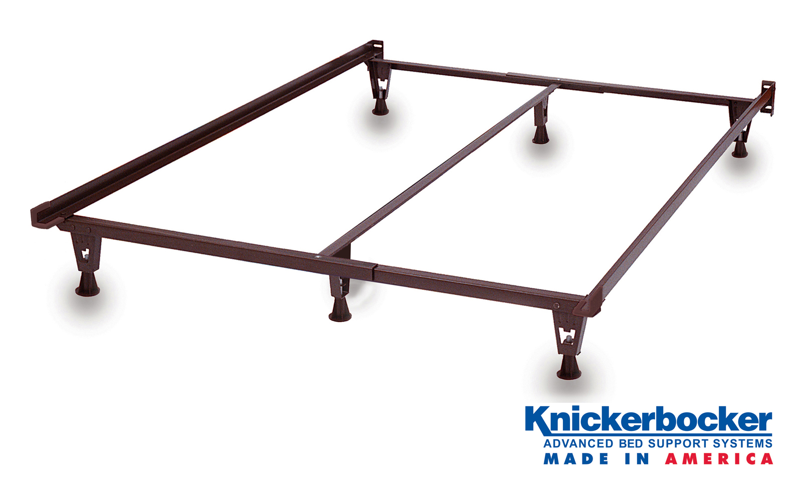 Heavy Duty Twin Bed Frame On Glides Knickerbocker Bed