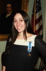 Photo of Knickerbocker chapter treasurer