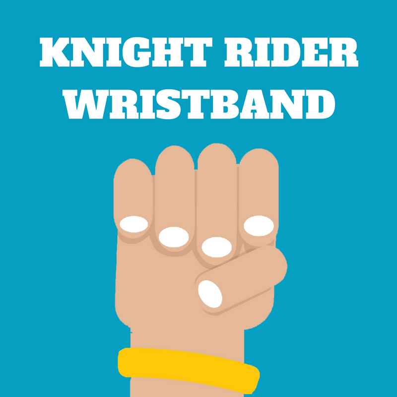Knightly's Knight Rider WRISTBAND