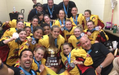 Midget Girls Win Gold at Provincials