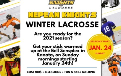 2021 Winter Lacrosse Registration is now open