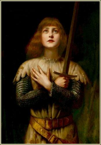 'Jeanne de Arc' (19th century) by Paul La Boulaye